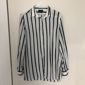 Zara men's button down top
